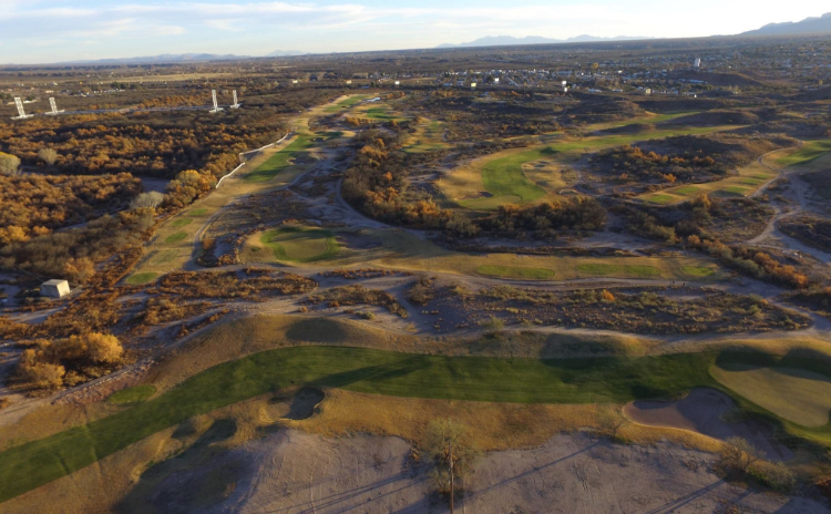 Flyover of San Pedro Golf Course